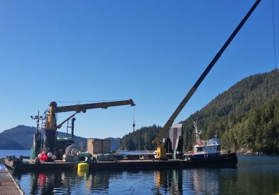 SRMS 209 Equipment Barge